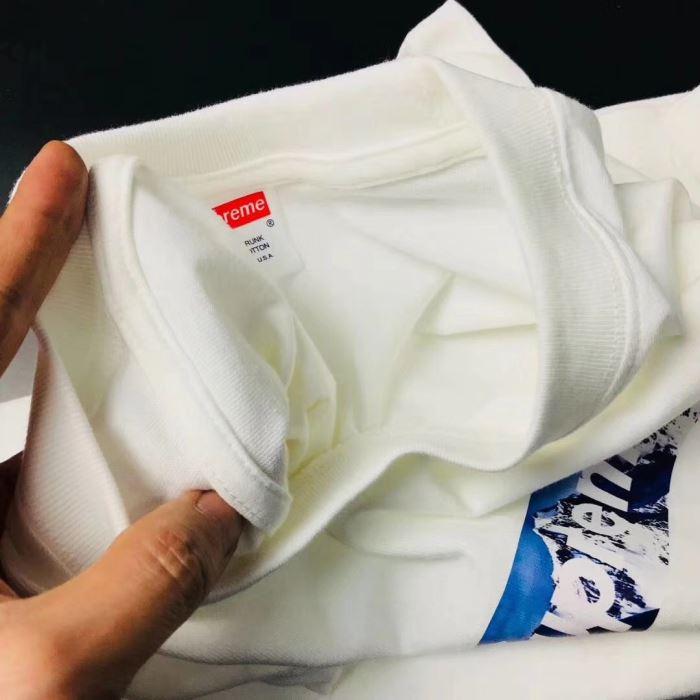SUPREME the north face 2018 プリント半袖tシャツシュプリーム ザ・ノース・フェイス 丸首tシャツ