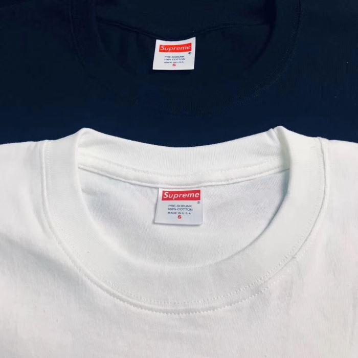 お得100%新品 シュプリーム tシャツ激安 半袖 supreme プリント丸首tシャツカットソー2色可選