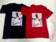 2016年FW新作 SUPREME シュプリーム Gucci Mane Tee グッチ・メイン  半袖Tシャツ プリント ブラックホワイト グレー レッド
