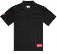 SUPREME 激安 tシャツ シュプリーム シャツ ネイビー ブラック ホワイト メッシュ 15ss 半袖シャツ ロゴワッペン
