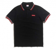 SUPREME シュプリーム 2017aw 半袖 Tシャツ メンズ ボックスロゴ box logo ポロシャツ ブラック グレー コットン