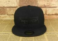 HOT100%新品 シュプリーム オンラインボックスロゴキャップ SUPREME CAP 偽物コットン帽子スポーツショッピングブラック