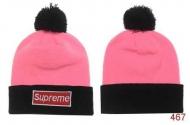 洗練されたデザインシュプリーム2017AWニット帽子SUPREME帽子偽物シュプリームボックスロゴニットキャップピンク