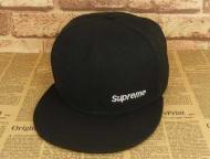 上質SUPREME 帽子 偽物キャップ刺繍ロゴシュプリーム流行りコットンキャップスポーツ登山旅行ブラック
