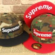 スポーティーSUPREMEキャップコーデ帽子シュプリーム 激安 サイトボックスロゴキャップ17SS カモフラージュ2色可選