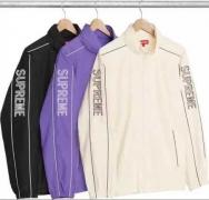 シュプリーム パーカー 激安 新作 Supreme Track Jacket ジャケットブラック ホワイト パープル 人気 新品 ジップパーカー