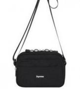 高級品 通販 SUPREME ボックスロゴ 収納力 シュプリームバッグ偽物 ブラック メンズファッション ブランド ショルダーバッグ.