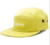 トレンドSUPREMEオンラインレザーキャップシュプリーム安いボックスロゴ帽子スポーツファッションショーイエロー