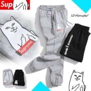 PRIPnDIP x Supreme ID Monster シュプリーム Jogger Pants ジョギングパンツ コットン スウェットパンツ ブラック グレー