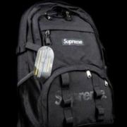 2017 最新入荷 爆発的通販 シュプリーム リュック メンズ アウトドア カジュアル SUPREME バックパック ブラック.
