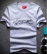 2017最新入荷 SUPREME シュプリーム tシャツ グレー ホワイト 半袖Tシャツ コットン クルーネック 男女兼用