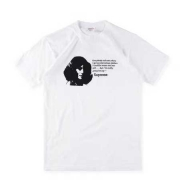 17SS新作 新品 SUPREME シュプリーム Mean Tee ミーンTシャツ ブラック 半袖Tシャツ ホワイト クルーネック