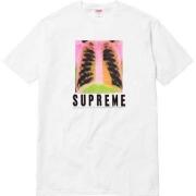 SUPREME シュプリーム X-Ray Tee 17春夏新作 半袖Tシャツ ブラック ホワイト クルーネック コットン 新品