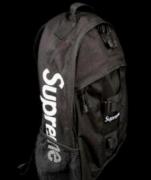 SUPREME リュック 黒 シュプリーム バックパック ブラック メンズ用カバン バックルが付き 最安値品質保証 ナイロン.