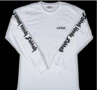 Supreme x Black Sabbath シュプリームSabbath Bloddy Sabbath L/S Tee 16春夏 Tシャツ 長袖 ホワイト ブラックサバス