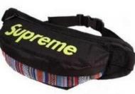品質保証お買い得 シュプリーム 偽物 メンズ ウエスト バッグ SUPREME ボックスロゴ付き ブラック 花柄 ボディバッグ.