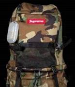 迷彩 SUPREME バックパック シュプリーム 17SS リュック Waterproof Backpack Woodland camo リュック.