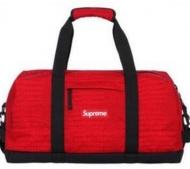 レッド SUPREME ショルダーバッグ シュプリーム 偽物 17SS Duffle bag ボストンバッグ ダッフル コーデュラナイロン 男女兼用.