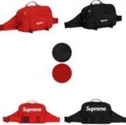 限定セール最新作 メンズ シュプリーム 偽物 SUPREME ボックスロゴ付き ウエストバッグ レッド ブラック 2色.