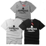 高品質なコットン SUPREME Tシャツ 半袖 スケート ボード 白 黒 灰色 3色 シュプリーム tシャツ 通販 男性 数量限定お買い得.