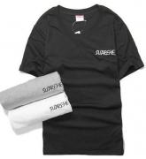 爆買い定番人気なシュプリーム SUPREME 男性 半袖Tシャツ ホワイト ブラック グレー 3色 コットン.