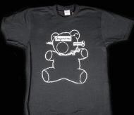 人気 15ss シュプリーム アンダーカバー SUPREME x UNDERCOVER BEAR TEE 半袖Tシャツ ボックスロゴ コットン ブラック