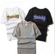 シュプリーム シャツ サイズ感 SUPREME Thrasher Tee スラッシャー Tシャツ 半袖 ホワイトグレー ブラック 3色可選.
