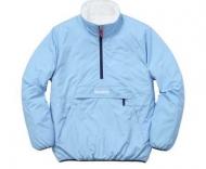 シュプリーム激安通販プルオーバーパーカーSUPREME REVERSIBLE PULLOVER PUFFER HOODIESジャケット綿服多色可選