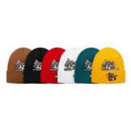 シュプリーム ニット帽 偽物 SUPREME X Tom & Jerry© 男女兼用 ストリートカーキ、グリーン、イエロー、黒、白、赤.