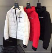 SUPREME シュプリーム ダウン サイズ感 ジャケット ブラック、ホワイト、レッド 3色選択 コットン生地.