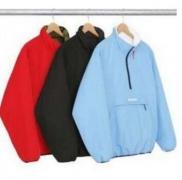 シュプリーム ジャケット サイズ SUPREME 両面可用 綿入れ 男女兼用 ライトブルー、赤、ブラック3色選択.