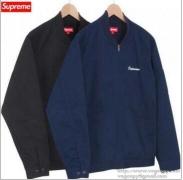 スーパー コピー シュプリーム SUPREME×White Castle バックワッペンワーク ジャケット ネイビー、ブラック2色選択.