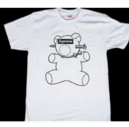 SUPREME x UNDERCOVER シュプリーム アンダーカバー Bear Tee ホワイト Tシャツ 半袖 コットン メンズ.