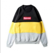 SUPREME シュプリーム ボックス パーカー 男女兼用 Box Logo レッド、イエロー2色選択 コットン生地.