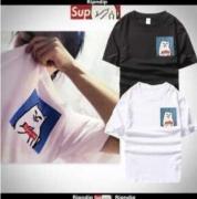 シュプリーム SUPREME tシャツ偽物 半袖 Tシャツ コットン生地  ブラック、ホワイト、ピンク3色選択 男女兼用.
