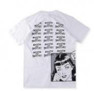 シュプリーム tシャツ レディース SUPREME ショートスリーブ スタイルアップ 白、黒、ブルー、赤、イエロー.