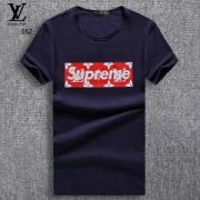 SUPREME x Louis Vuitton 大人気アイテム Box Logo Tee 半袖Tシャツ モノグラム柄 クールネック 2色可選