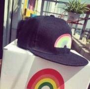 カワイイ シュプリーム 偽物 キャップ SUPREME BOX LOGO コットン帽子虹刺繍アウトドア2色可選