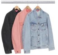 2018 SUPREME新作品 かっこいい シュプリーム コピー デニムシャツ コート 男女兼用 3色可選