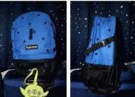 可愛いアイテム シュプリーム バッグ コピー シュプリーム ボックスロゴ 星刺繍 通学 4色可選
