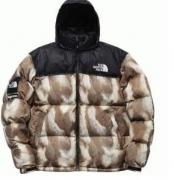 秋冬人気定番シュプリーム&ノースフェイス偽物フード付き耐寒性拔群のダウンジャケット