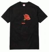 大特価!シュプリーム激安通販プリント半袖TシャツSUPREMEインナートップス丸首ユニセックス2色可選