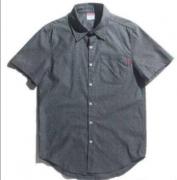 人気爆発シュプリームコピーメンズファッションシャツカジュアル半袖シャツ2色可選