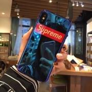 2018超レア最新作シュプリームスーパーコピー定番ボックスロゴiphoneケースミラー仕様男女兼用2色可選択