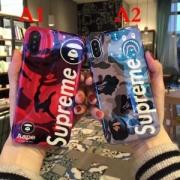 個性的Supreme+AAPE 大人気 supreme iphone7ケース 新着品 2018海外流行り 再入荷限定SALE ファッション 小物