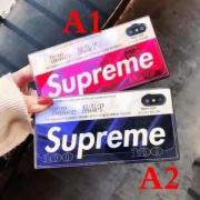 数量限定シュプリームスーパーコピーファッションな定番ボックスロゴiPhoneケース男女兼用2色可選択