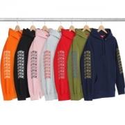 海外でも若者たちに大人気な SUPREME Sleeve Arc Hooded Sweatshirt 多色選択可 パーカー ファッションアイテム