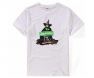 シュプリーム SUPREME /UNDERCOVER アンダーカバー 15AW Witch Tee  プリントTシャツ 魔女ボックスロゴ ブラック ホワイト グレー