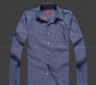 SUPREME シュプリーム 16AW新作  Oxford Shirt Light Washed Denim 春夏 ブルーデニムシャツ 長袖シャツ 人気アイテム