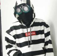 HOTお買い得 SUPREME シュプリーム パーカー 激安 Box Logo ボックスロゴ ボーダー メンズファッション ブラック ホワイト